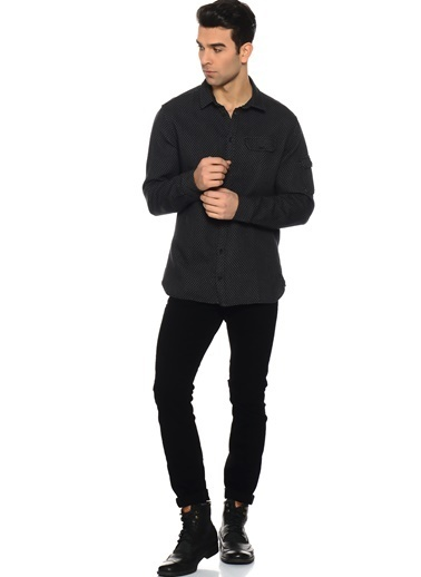 Casual Friday Gömlek Siyah